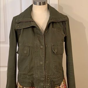 ASHLEY UTILITY COLLECTION ARMY GREEN JACKET